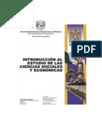 Introducción al Estudio de las Ciencias Sociales - UNAM DGNEP