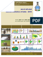 Rainfall Statistics of India - 2016