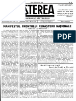 BCUCLUJ 1939_ Manifestul