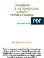 Taksonomi Capaian Pembelajaran 05-2017