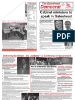 Gateshead Democrat Oct 10 Bw
