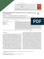 Fuel Volume 231 Issue 2018 [Doi 10.1016_j.fuel.2018.05.108] Luo, Zhenfu; Wang, Yanan; Zhao, Yuemin; Zhou, Enhui; Lv, Bo -- Effect of Bed Characteristics on Separation Behavior of Coal Particles in A