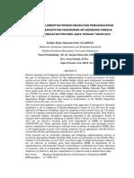 Analisis Implementasi Perencanaan Dan Penganggaran Kegiatan Percepatan Penurunan Aki Berbasis Kinerja Di Dinas Kesehatan Provinsi Jawa Tengah Tahun 2012