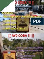 Jual - Kopi Purwaceng Dieng +62 853–7021–6179 (Telkomsel)