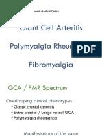 Guymer Giant Cell Arteritis Polymyalgia Rheumatica Fibromyalgia
