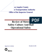 17aud04 Final Report Review of Metro Safety Culture and Rail Ops Safety 12.22.16
