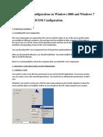OPC and DCOM Configuration_Windows Server 2008