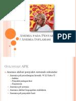 Anemia Pada Penyakit Kronis