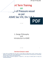 pressure vessel design philosophy