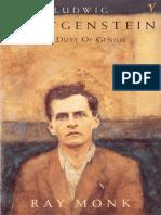 Ray Monk Ludwig Wittgenstein The Duty of Genius.epub
