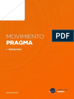 Decalogo Movimiento Pragma