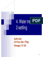 Ch4 2 Watertreatment Settling