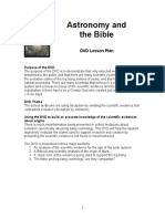Astronomy and Bible