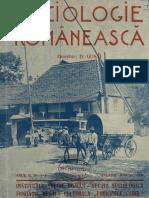 Sociologie Românească an III Nr 1-3 - Dimitrie Gusti