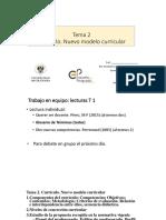 Tema 2. Curriculo I (presentación)