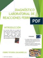 Diagnóstico Laboratorial de Reacciones Febriles