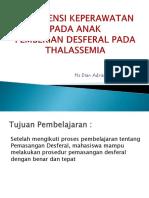 Pemberian Kemo, Disferal, & Terapi Lain