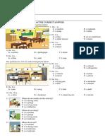 Soal Bahasa Inggris Kelas 7 SMP/MTs (01)
