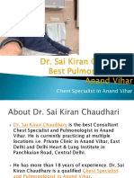 Dr. Sai Kiran Chaudhary - Best Pulmonologist/Chest Specialist in Anand Vihar