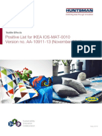 IKEA_Huntsman Positive List_27 May 2016_EN_FINAL_v1 - Copy