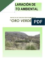 Contenido Mínimos de La Declaración de Impacto Ambiental (Dia) Ok1