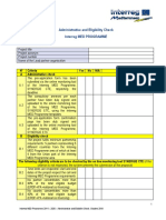 MED_Administrative and Eligibility Check_Pre-AF
