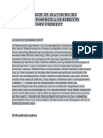 Chem Progect