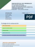 EXPOSICIÓN Ecosistemas Restaurados Casos Prácticos Locales