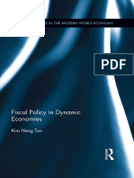 Fiscal Policy in Dynamic economies