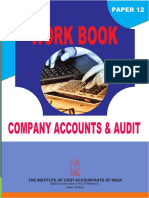 Company Accounts Workbook