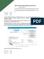 Notepad++ RegEx in pratica