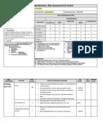 Risk Assessment Examples