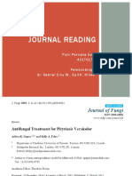 Journal Reading Antifungal Treatment for Pityriasis Versicolor