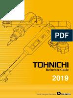 Tohnichi - Katalog 2019 EN
