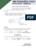 Ejercicio 1 de Flujo de Fluidos-Continuidad (Examen Octubre 2018)