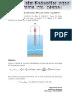 Ejercicio 1 de Empuje Hidrostatico-Flotación (Taller Mayo 2017)