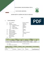 Silabo Agrotecnia I B 2018