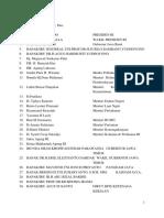 Daftar Vip Vvip Maulida & Waleed