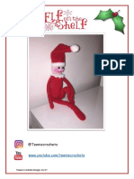 Free Christmas Elf on a Shelf