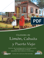 2012. Zamora - Limón, Cahuita y Puerto Viejo