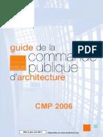 249614418 Guide Commande Publique d Architecture Mise a Jour Juin 2011