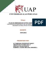Plan de Emergencia EXTERNAS