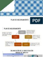 Plan de Mejoramiento