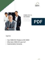 CMMI SVC versus ISO/IEC 20000