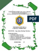 Monografia Geologia- Defor. Cort. Terrestre