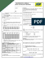 Matematica - Probabilidade - Lista 01