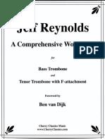 Jeff Reynolds Trombone Workbook