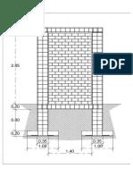 Detalle Muro Portaplaca
