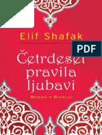 Četrdeset Pravila Ljubavi Elif Shafak Deo