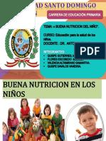 Educacion Para La Salud de Los Niños